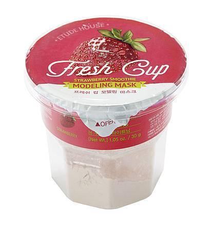ETUDE HOUSE 鮮果杯~粉凝凍明亮面膜(草莓+維他命C)