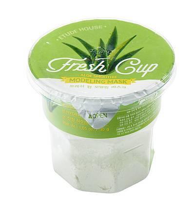 ETUDE HOUSE 鮮果杯~粉凝凍保濕面膜(蘆薈+積雪草)