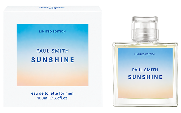 PAUL SMITH SUNSHINE FOR MEN 2016 PACK BOTTLE