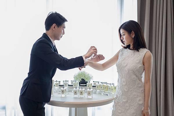 陳妍希和陳曉  X JO MALONE LONDON 婚芳盛宴 -2