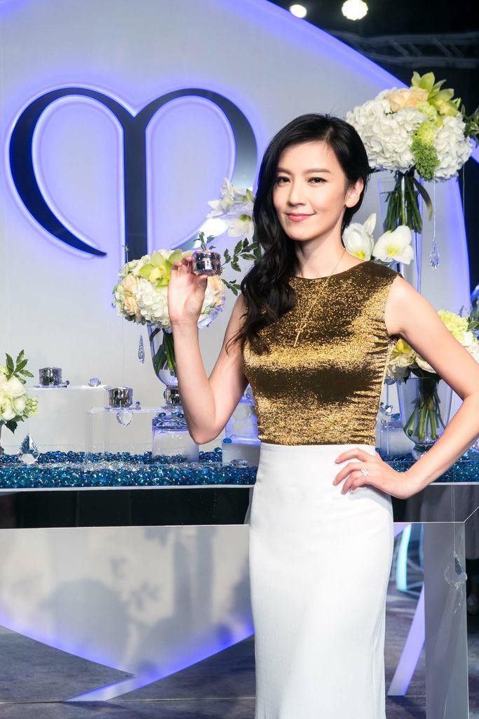 肌膚之鑰 精質眼霜新品上市記者會_台灣區品牌大使 林熙蕾3