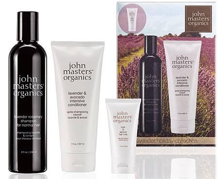 john masters organics薰衣草花園洗護髮禮盒