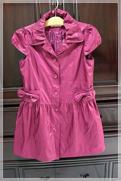中大尺碼桃紅洋裝