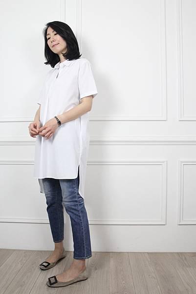 前期單品70525.修身小直筒丹寧褲 sz: S $1680