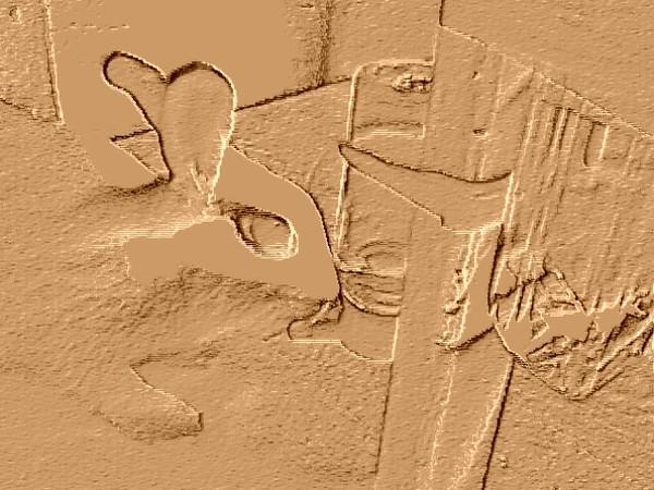 趴兔也要銅板雕刻系列