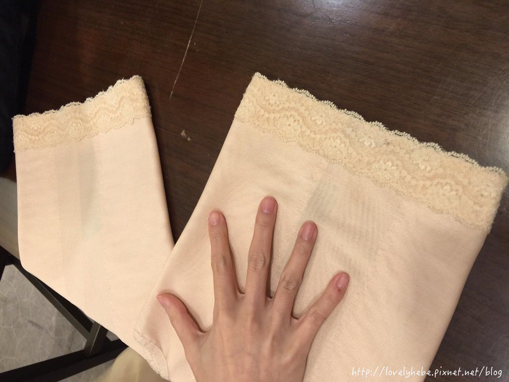 雙層設計塑身衣褲材質