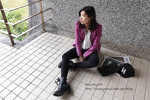 黑拉鍊褲 (4)