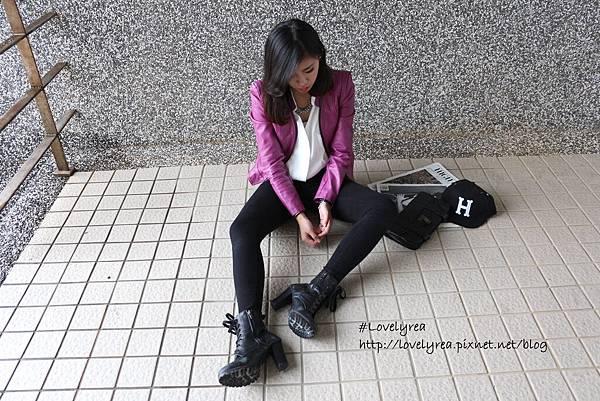 黑拉鍊褲 (5)