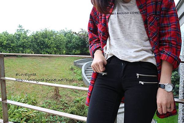 黑拉鍊褲 (2)