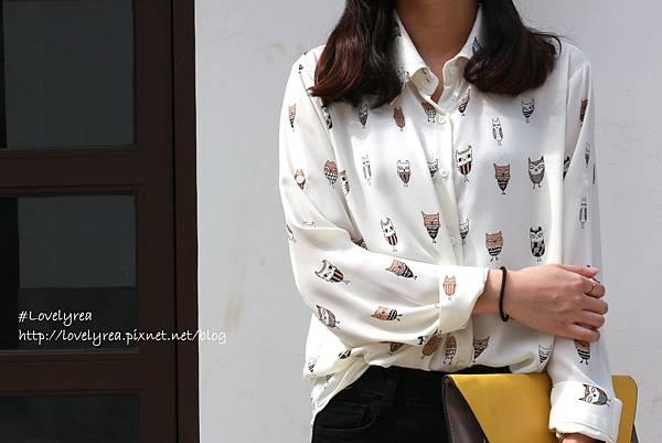 貓頭鷹襯衫 (2)