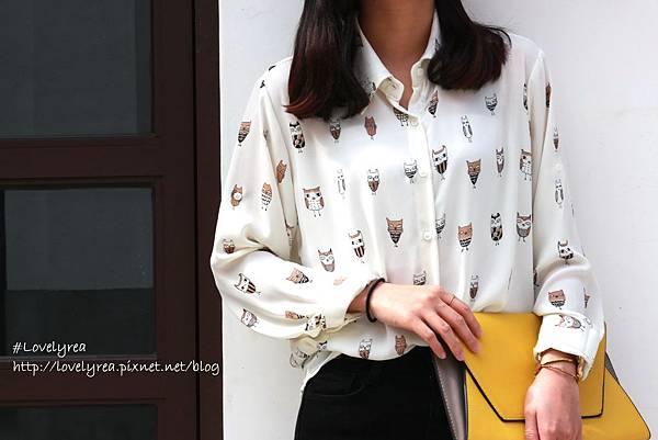 貓頭鷹襯衫 (3)