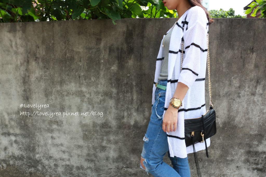 白條紋外套 (3)