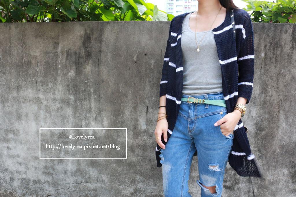 藍條紋外套 (2)