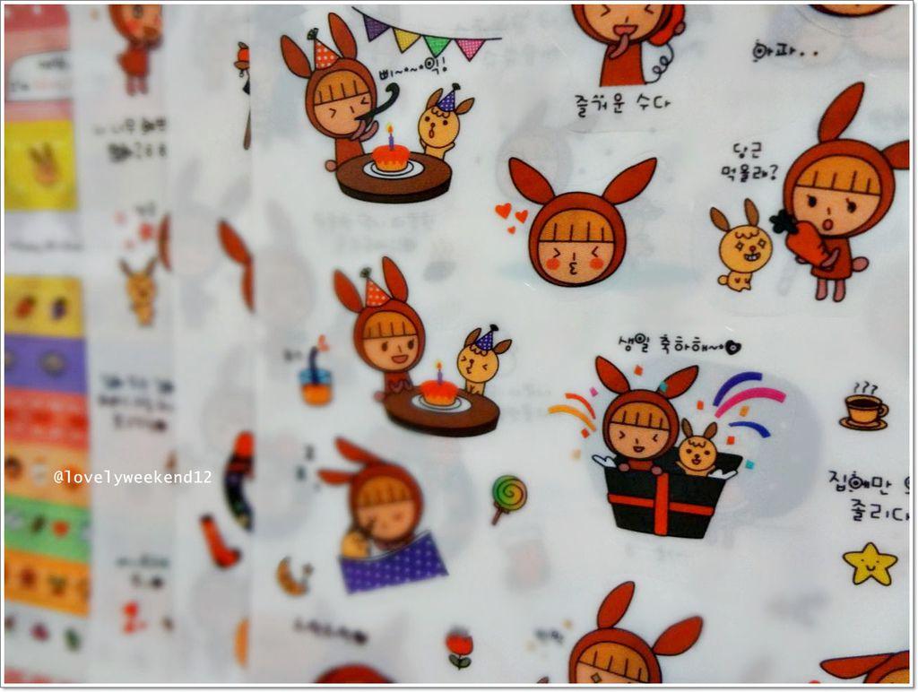 韓國貼紙-wannathis-21