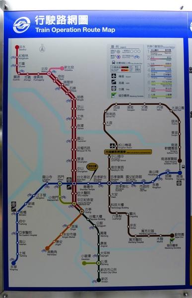 捷運路網圖