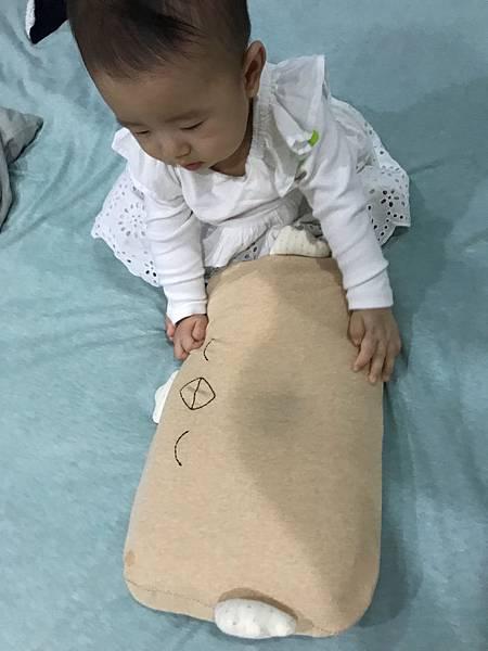 cani,air wave,嬰兒護頭型枕頭,天然有機,防瞞,棉枕,口水巾,透氣,散熱