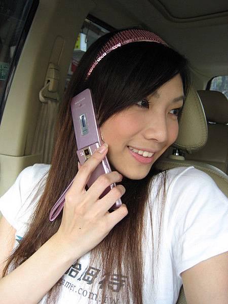 全身PINK跟我手機很配 哈哈