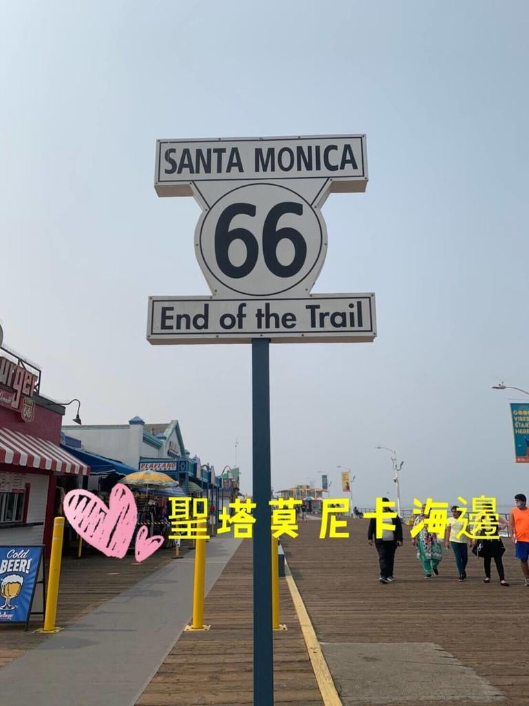 聖塔莫尼卡海邊