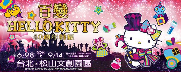 百變HELLO KITTY40週年特展