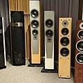 左至右 FOCAL 1028   1038   DYNAUDIO S5.4   S3.4   FOCUS 340  EXCITE X38