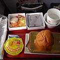 飛機上的晚餐
