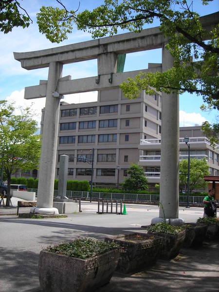 第一個在日本看到的鳥居!!