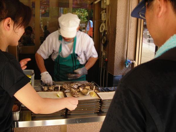 有名的燒牡蠣