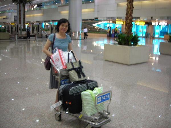 我媽+我的行李們
