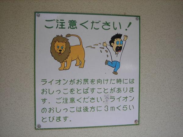 注意獅子的屁股XD