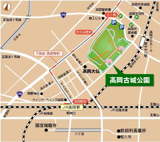高岡map