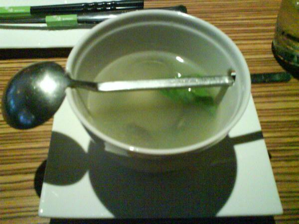 大蒜蛤蜊湯