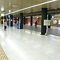 空蕩蕩的博多車站