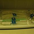 牙刷很貼心用不同顏色