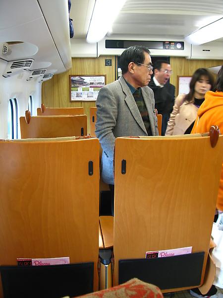 第一次搭新幹線!