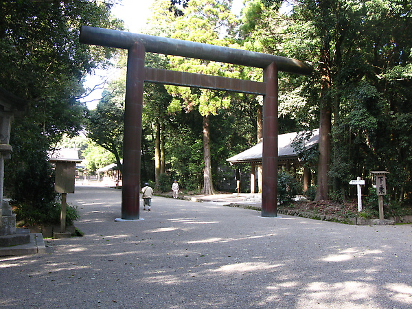到宮崎神宮了