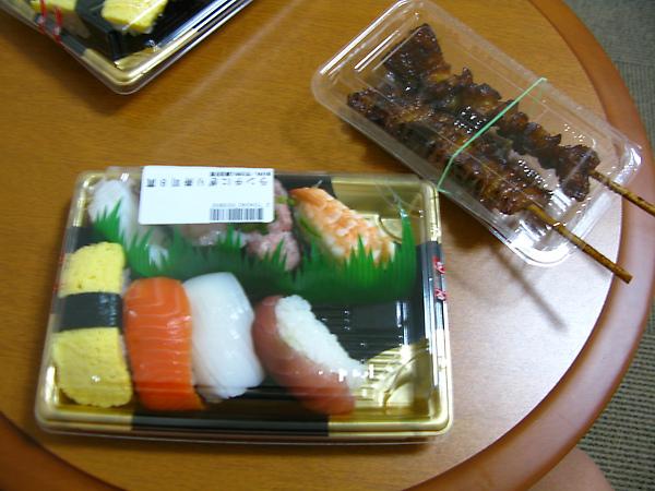 壽司+雞皮
