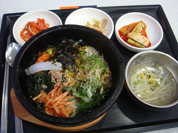 DAY7 COEX FOOD COURT 石鍋拌飯 普普