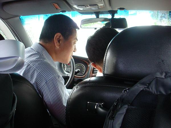 搭計程車新體驗!!