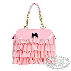 CT Molly粉紅蛋糕蕾絲側揹包.bmp