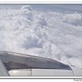 每每搭飛機時,一定要拍的雲