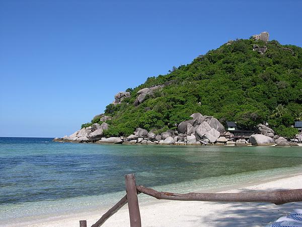 好乾淨的沙灘。這輩子第一次見到