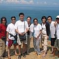 2005天台山上