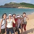 2004秋日山水沙灘