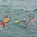 2005早泳會飛來泳渡澎湖灣