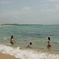 探險尾聲-沙灘戲水