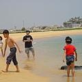 2006 旅人在沙灘