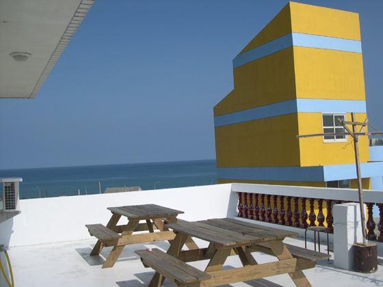 四樓露台公共空間
