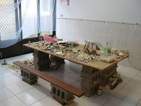 鯨魚旅店貝殼DIY區