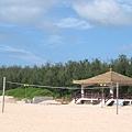 隘門沙灘-涼亭、沙灘排球設施