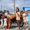 2006 漁村阿嬤家前牛車